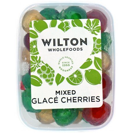 Mixed Glace Cherries 180g