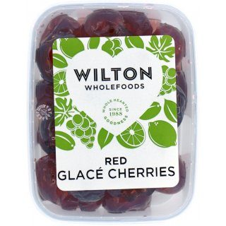 Red Glace Cherries 200g