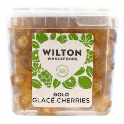 Gold Glace Cherries 1Kg