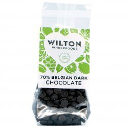 70% Belgian Dark Chocolate 250g