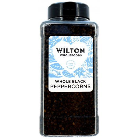 Black Peppercorns 500g TUB