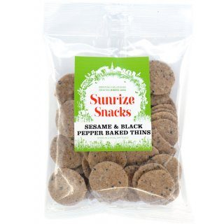 Sesame & Black Pepper Baked Thins 50g