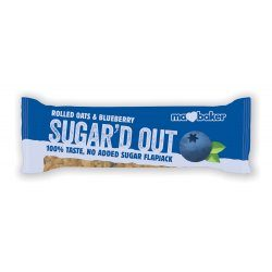 Sugar'd Out Bars, Blueberry 16x50g