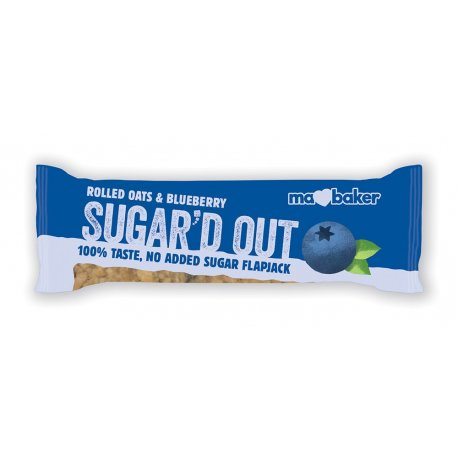Sugar'd Out Bars, Blueberry 16x50g [PreOrder]