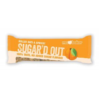 Sugar'd Out Bars, Apricot 16x50g [PreOrder]