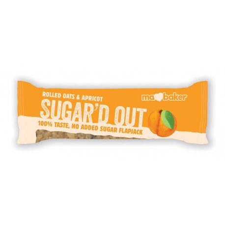 Sugar'd Out Bars, Apricot 16x50g