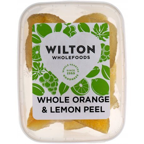 Whole Orange & Lemon Peel 125g