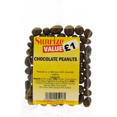 Chocolate Peanuts £1 (130g)