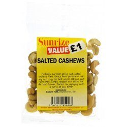 Salted Cashews £1 (50g)