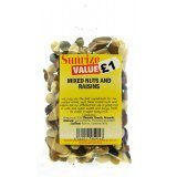 Mixed Nuts and Raisins £1 (170g)