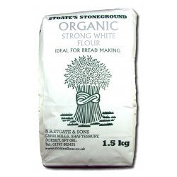 Organic Strong White Flour 1.5Kg
