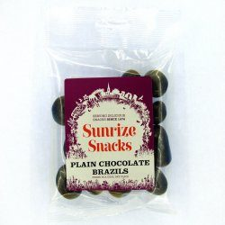 Plain Chocolate Brazils 110g