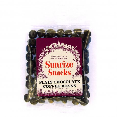 Plain Chocolate Coffee Beans 110g