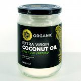Coconut Oil, Organic, Extra Virgin 500ml